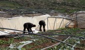 الاحتلال الإسرائيلي يدمر خط مياه بالأغوار الشمالية في الضفة الغربية