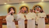 """بالصور.. """" محافظ المخواة """" يكرم الطلاب الفائزين في مسابقة الملك سلمان لحفظ القران"""