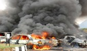"""قتلى ومصابين في انفجار عبوة ناسفة شمال """" بغداد """""""