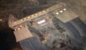 السرعة الجنونية تتسبب في إنقلاب شاحنة قلاب شرق أحد رفيدة