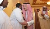 """بالصور.. أمير جازان ينقل تعازي القيادة لذوي المتوفين في حادث """" اليرموك """""""
