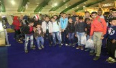 طلاب مدينة مصرية في ضيافة الجناح السعودي بمعرض القاهرة للكتاب