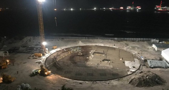 """بدء العمل على بناء أكبر مسجد في المالديف يحمل اسم """" محمد بن سلمان """""""
