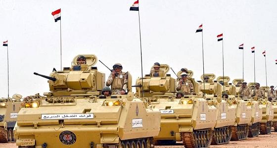 الجيش المصري يكشف حصيلة العمليات العسكرية في سيناء