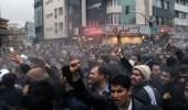 بالفيديو.. هجوم قوات الأمن على المتظاهرين الدراويش بطهران