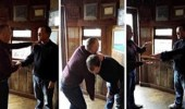بالفيديو.. معالج يستخدم المصافحة لتنويم زبائنه مغناطيسيا في ثانية