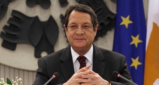 إعادة انتخاب الرئيس القبرصي أناستاسيادس لولاية ثانية