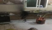 اندلاع حريق في شقة بعرعر دون إصابات
