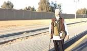 الفنان الشعبي كمال حمدي يخوض تجربة مشي مسافة 100 كم