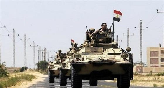 الجيش المصري: القضاء على خلية إرهابية وضبط 400 مشتبه به في سيناء