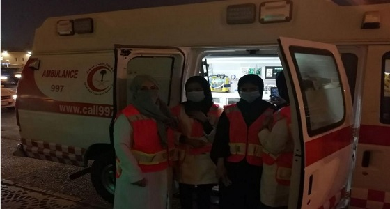 الهلال الأحمر ينظم دورات لتدريب المتطوعات لخدمة الحجاج والمعتمرين