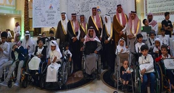 مركز المعوقين بجدة يكرم الفائزات بمسابقة حفظ القرآن الكريم