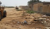 بلدية صامطة تبدأ بإزالة التشوهات البصرية من قرى المحافظة