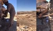"""فيديو من حدود السعودية يتسبب في """" جلطة """" للحوثيين و """" شريفة """""""