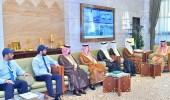 بالصور.. أمير الرياض يستقبل محافظ المؤسسة العامة للتدريب التقني والمهني
