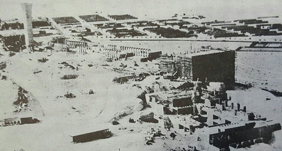 صور نادرة لجامعة الملك فهد ترجع لعام 1972 م
