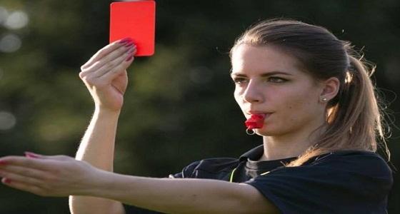 حقيقة تولي الحكمة البولندية قيادة مباراة الأخضر وبلجيكا
