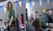 بالفيديو.. سقوط مروع لسيدة في تحدي لركوب الثور