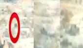 بالفيديو.. تعامل القوات السعودية مع عربة تابعة للحوثيين