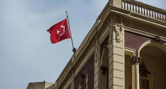 """هجوم بالقنابل على السفارة التركية بـ """" كوبنهاجن """""""