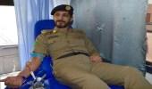 بالصور.. 44 متبرعا بالدم من شرطة القصيم