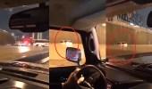بالفيديو.. غرق أحد السيارات في الرياض