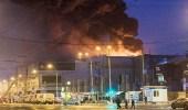 ارتفاع عدد ضحايا حريق المركز التجاري الروسي