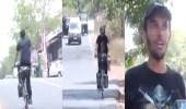 """بالفيديو.. الرحالة """" صالح العايد """" يقطع مسافة 1700 كيلو داخل الهند"""