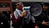 بالصور.. أمريكيون يتظاهرون احتجاجا على اعتقال المهاجرين