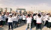 800 طالب يشاركون في برنامج المشي الشهري لجمعية السكر بالشرقية