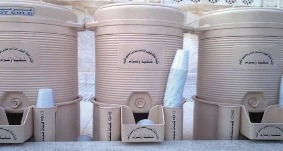 حقيقة فرض الحكومة ضريبة على مياه زمزم
