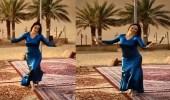 مليون مشاهدة لفتاة ترقص طربًا على أغنية فنان العرب