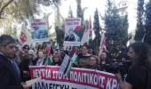 الشعب اليوناني يتظاهر مع فلسطين تنديدا بالاحتلال الإسرائيلي