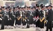 بالفيديو.. ثاني حالة إغماء لضابط في عرض عسكري بكلية أمنية في الكويت