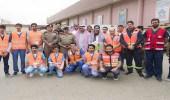 هلال الباحة يشارك بحملة توعوية في فعاليات اليوم العالمي للدفاع المدني