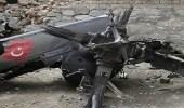 أنباء عن إسقاط طائرة تركية فوق بلدة بعفرين