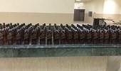 شرطة الرياض تضبط 310 زجاجة خمر مستوردة