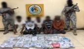 الإطاحة بـ 22 مهربًا بحوزتهم مواد مخدرة بالمناطق الجنوبية