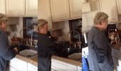 بالفيديو.. فتاة تنفذ مقلبا طريفا في أمها