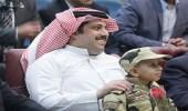 """بالصور.. """" آل الشيخ """" يتبرع لمستشفى سرطان الأطفال بمصر"""