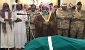 الجموع تشيع جثمان الشهيد الجهني بالمسجد النبوي الشريف
