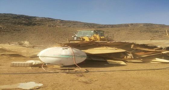 بالصور.. إزالة تعديات بمساحة 40 ألف متر بوادي النقمي