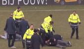 """في واقعة مثيرة الجماهير تعتدي على لاعبي أحد الفرق الهولندية """" صور """""""