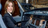 قصة أول لبنانية تكسر احتكار الرجال لمهنة قيادة الطائرات