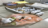 بالصور.. مصادرة حلويات ومواد غذائية منتهية الصلاحية في الرس