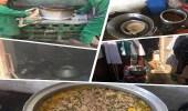 بالصور.. ضبط عمالة مخالفة استغلت منزلًا في تحضير الأطعمة الفاسدة بالمدينة