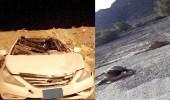 بالصور.. إصابة أحد منسوبي فرع هيئة الهلال الأحمر في الباحة
