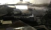 إصابتان إثر اندلاع حريق بمبنى في جدة