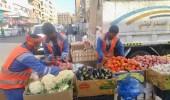 بالصور.. مصادرة 431 كرتونة خضروات وفاكهة بوسط الدمام