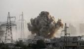 تقدم جديد لقوات النظام السوري بالغوطة بغطاء صاروخي مكثف